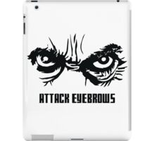 Attack Eyebrows iPad Case/Skin