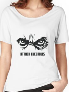 Attack Eyebrows Women's Relaxed Fit T-Shirt