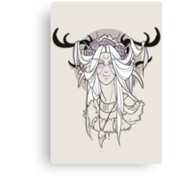 The Druidess Canvas Print