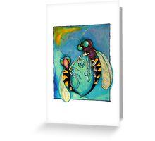 Wasps  Greeting Card