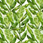Banana leaves pattern by verogobet
