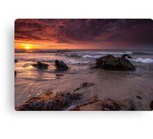 Sunrise - Co Wexford Ireland Canvas Print