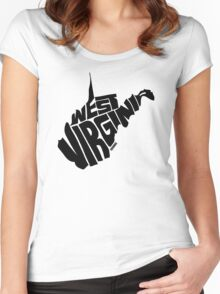 West Virginia Women's Fitted Scoop T-Shirt
