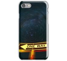 One Way to the Milky Way iPhone Case/Skin