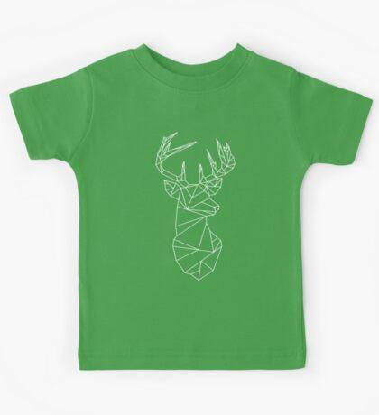 Geometric Stag Kids Tee
