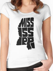 Mississippi Women's Fitted Scoop T-Shirt