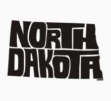 North Dakota Baby Tee