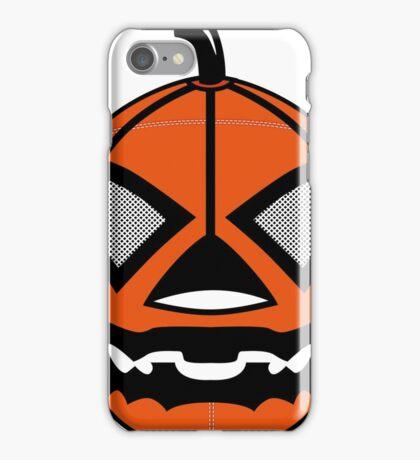 Jack-o'-Lantern LUCHA iPhone Case/Skin