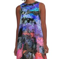 abstract  10-16 A-Line Dress