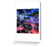 abstract  10-16 Greeting Card