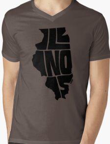 Illinois Mens V-Neck T-Shirt