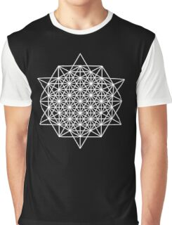 64 star tetrahedron sacred geometry  Graphic T-Shirt