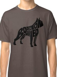 Boston Terrier Black Classic T-Shirt