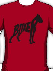 Boxer Black T-Shirt