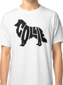 Collie Black Classic T-Shirt
