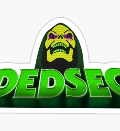 Dedsec and the Hackers of the Universe Sticker
