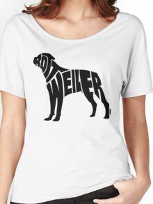 Rottweiler Black Women's Relaxed Fit T-Shirt
