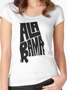 Alabama Women's Fitted Scoop T-Shirt
