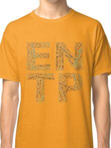 ENTP Word Cloud Classic T-Shirt