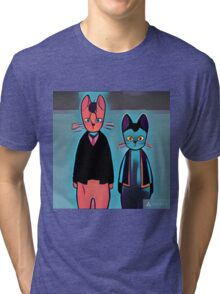 Night on the Galactic Railroad Tri-blend T-Shirt