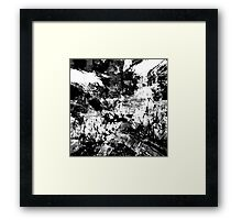 abstract  10-16bw Framed Print