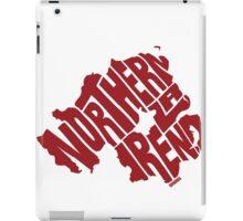 Northern Ireland Red iPad Case/Skin