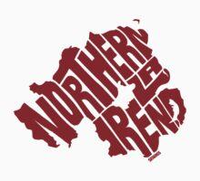 Northern Ireland Red Baby Tee