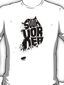 South Korea Black T-Shirt
