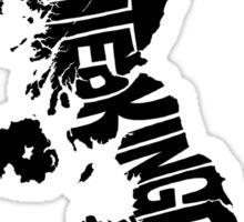 United Kingdom Black Sticker