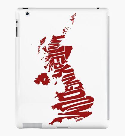 United Kingdom Red iPad Case/Skin