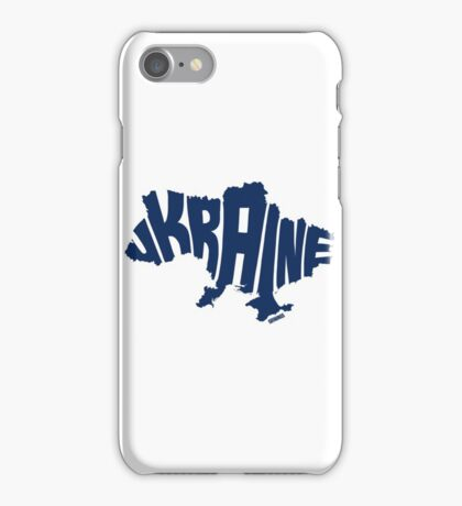 Ukraine Blue iPhone Case/Skin