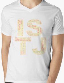 ISTJ Word Cloud Mens V-Neck T-Shirt