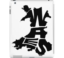 Wales Black iPad Case/Skin