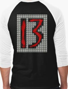 studded 13 Men's Baseball ¾ T-Shirt
