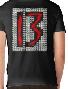 studded 13 Mens V-Neck T-Shirt