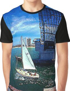 Heading Out for a Day of Sailing Graphic T-Shirt