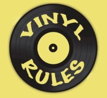 Vinyl Rules Kids Clothes