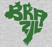 Brazil Green Kids Tee