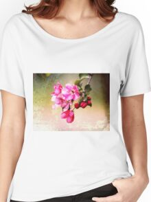 Weathered Blossoms Women's Relaxed Fit T-Shirt