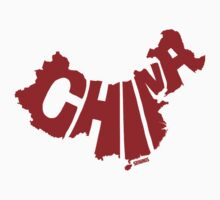 China Red Kids Clothes