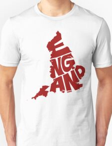 England Red T-Shirt