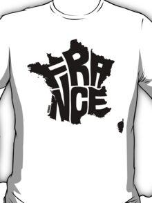 France Black T-Shirt