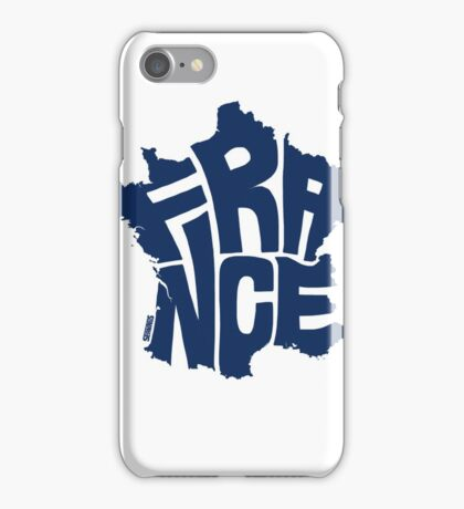 France Blue iPhone Case/Skin