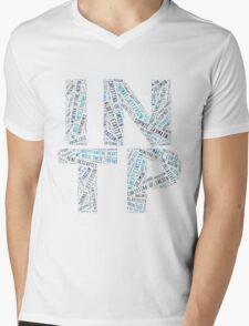 INTP Word Cloud Mens V-Neck T-Shirt