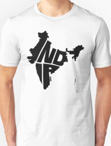 India Black T-Shirt