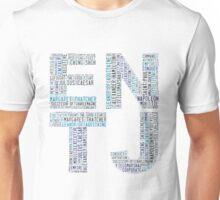 ENTJ Word Cloud Unisex T-Shirt