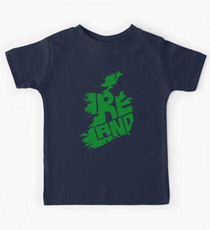 Ireland Green Kids Tee