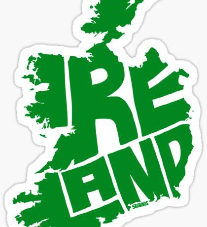 Ireland Green Sticker