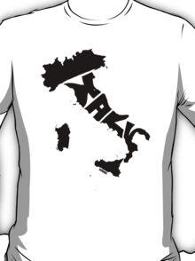 Italy Black T-Shirt