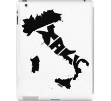 Italy Black iPad Case/Skin